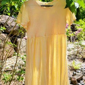 Soft Light Yellow Dress